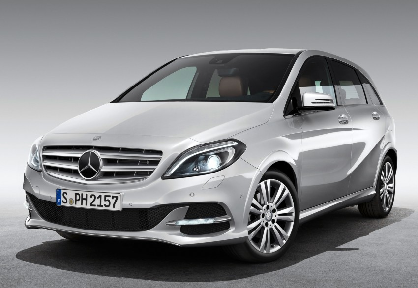 Mercedes-Benz B 200 Natural Gas Drive – the B-Class gets powered by alternative fuel Image #129336