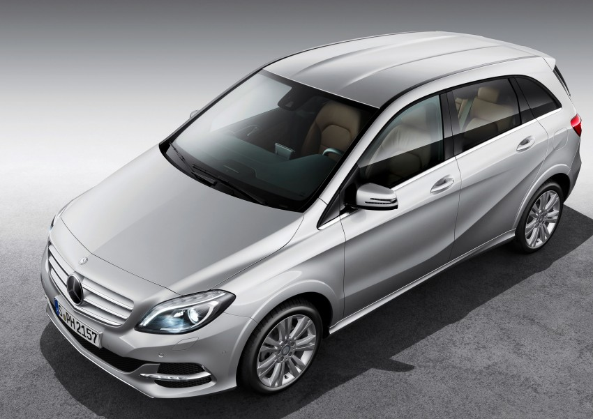 Mercedes-Benz B 200 Natural Gas Drive – the B-Class gets powered by alternative fuel Image #129337