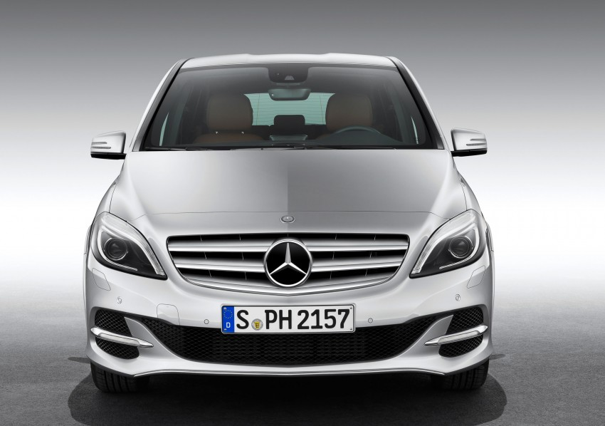 Mercedes-Benz B 200 Natural Gas Drive – the B-Class gets powered by alternative fuel Image #129338