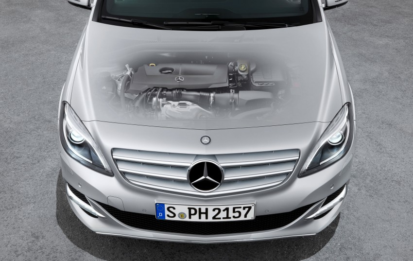 Mercedes-Benz B 200 Natural Gas Drive – the B-Class gets powered by alternative fuel Image #129341