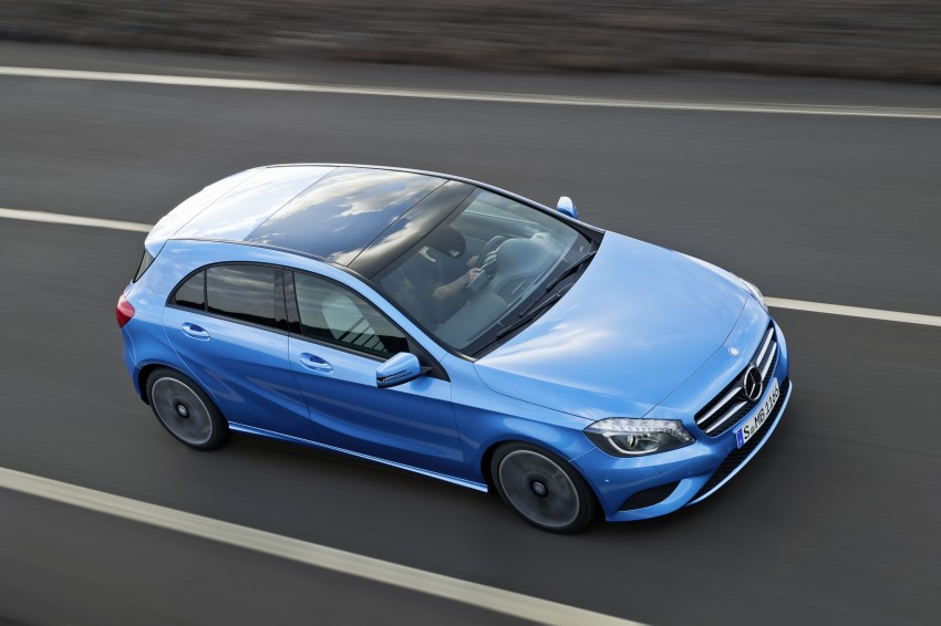 DRIVEN: W176 Mercedes-Benz A-Class – we sample the A200, A250 and A250 Sport in Slovenia Image #121801