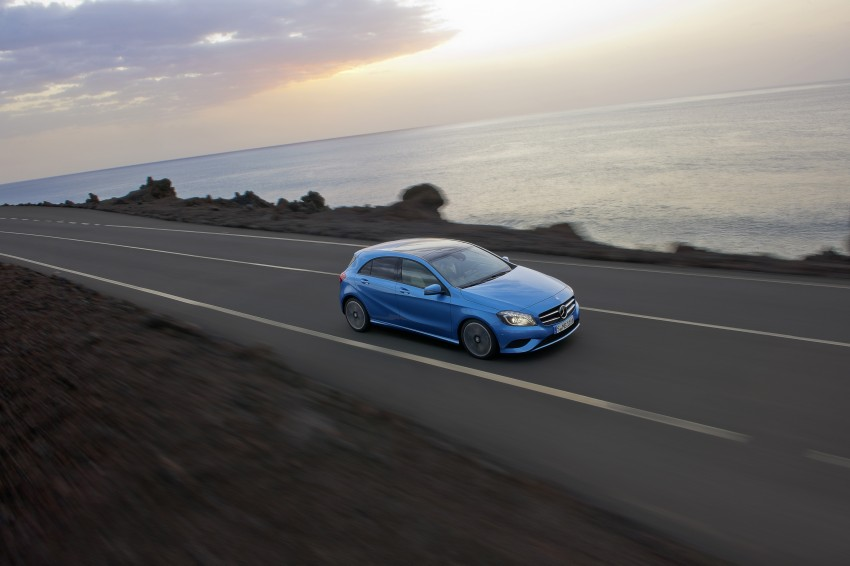 DRIVEN: W176 Mercedes-Benz A-Class – we sample the A200, A250 and A250 Sport in Slovenia Image #121677