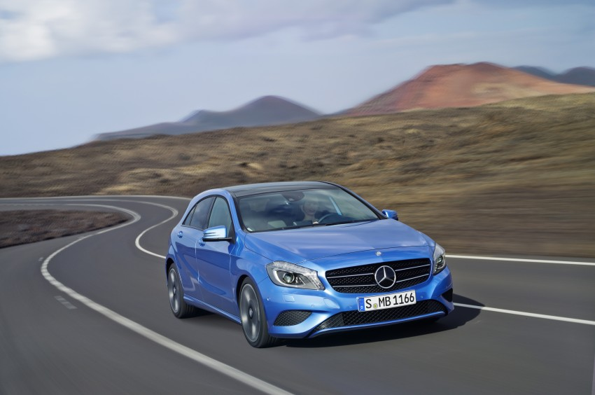 DRIVEN: Mercedes-Benz A-Class W176 – the A 200, A 250 and A 250 Sport sampled in Slovenia Image #121678