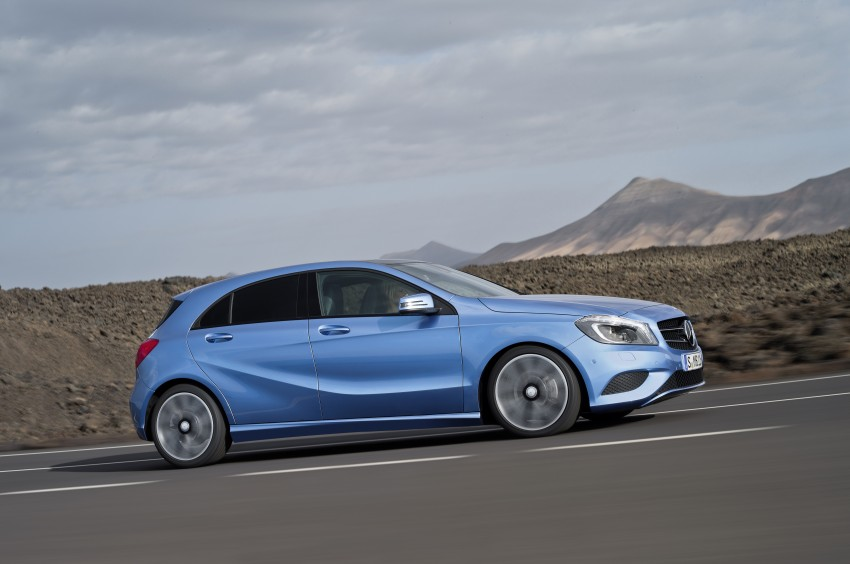 DRIVEN: W176 Mercedes-Benz A-Class – we sample the A200, A250 and A250 Sport in Slovenia Image #121679