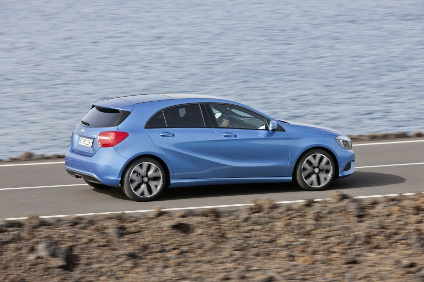 DRIVEN: W176 Mercedes-Benz A-Class – we sample the A200, A250 and A250 Sport in Slovenia Image #121680