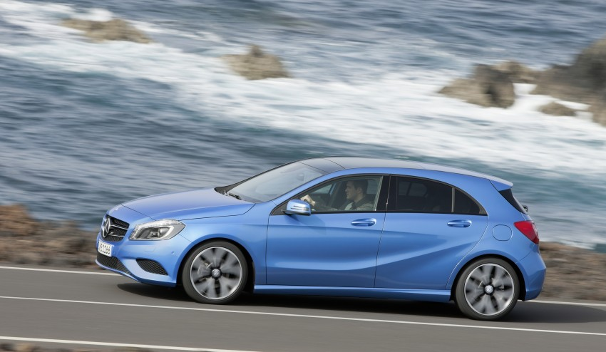 DRIVEN: W176 Mercedes-Benz A-Class – we sample the A200, A250 and A250 Sport in Slovenia Image #121681
