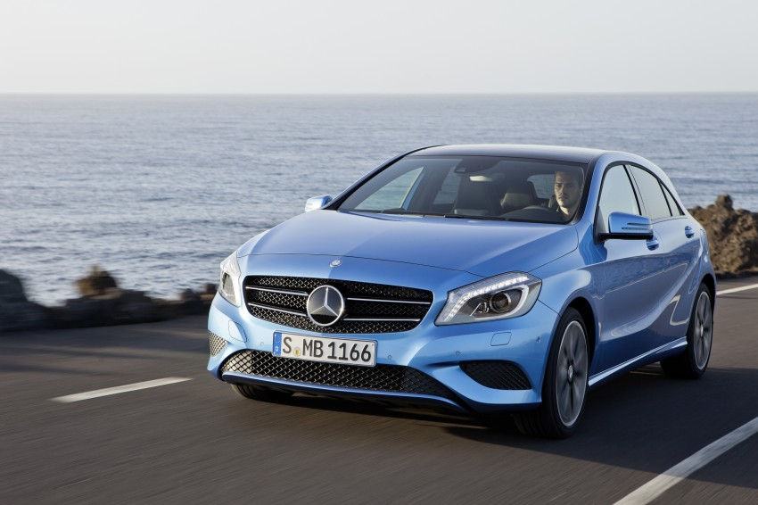 DRIVEN: W176 Mercedes-Benz A-Class – we sample the A200, A250 and A250 Sport in Slovenia Image #121682