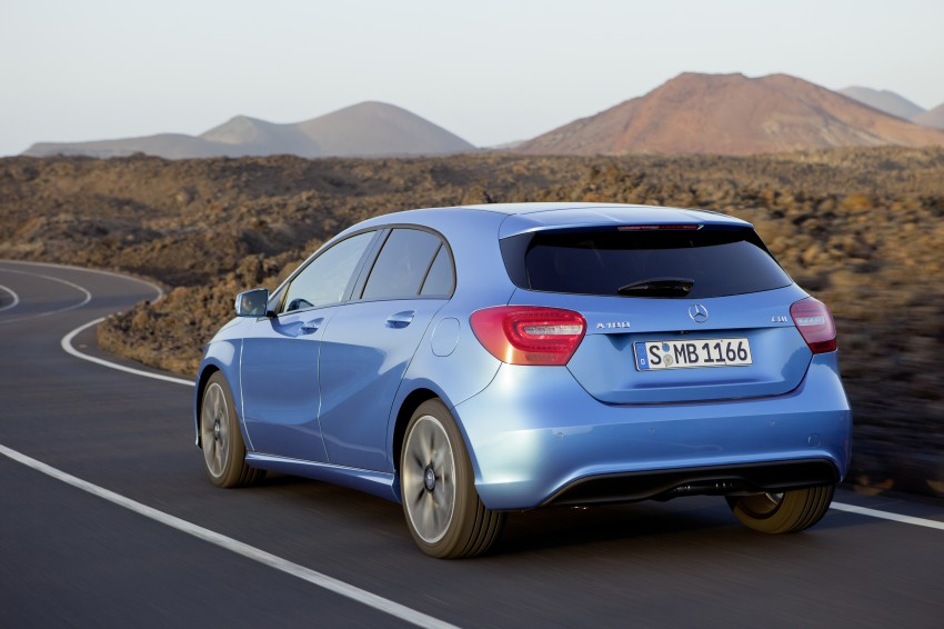 DRIVEN: W176 Mercedes-Benz A-Class – we sample the A200, A250 and A250 Sport in Slovenia Image #121683