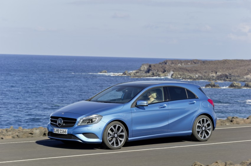 DRIVEN: W176 Mercedes-Benz A-Class – we sample the A200, A250 and A250 Sport in Slovenia Image #121684