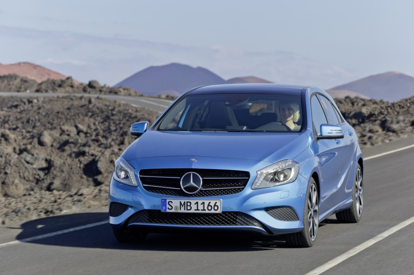 DRIVEN: W176 Mercedes-Benz A-Class – we sample the A200, A250 and A250 Sport in Slovenia Image #121685