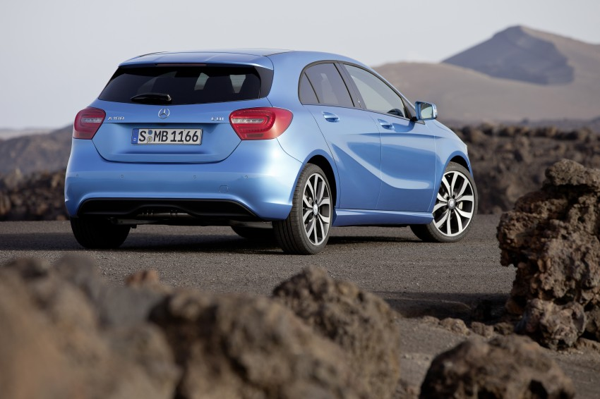 DRIVEN: W176 Mercedes-Benz A-Class – we sample the A200, A250 and A250 Sport in Slovenia Image #121686