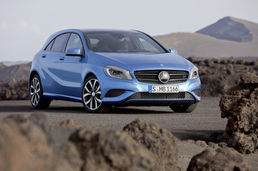 DRIVEN: W176 Mercedes-Benz A-Class – we sample the A200, A250 and A250 Sport in Slovenia Image #121687
