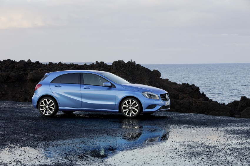 DRIVEN: W176 Mercedes-Benz A-Class – we sample the A200, A250 and A250 Sport in Slovenia Image #121688