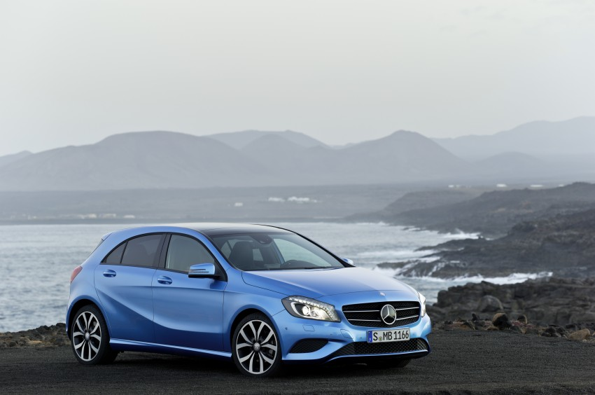 DRIVEN: W176 Mercedes-Benz A-Class – we sample the A200, A250 and A250 Sport in Slovenia Image #121690