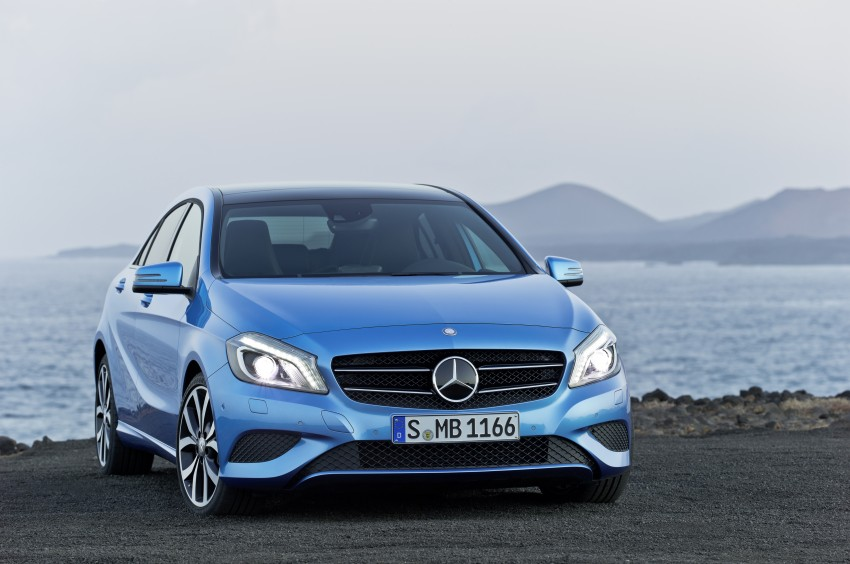 DRIVEN: W176 Mercedes-Benz A-Class – we sample the A200, A250 and A250 Sport in Slovenia Image #121691