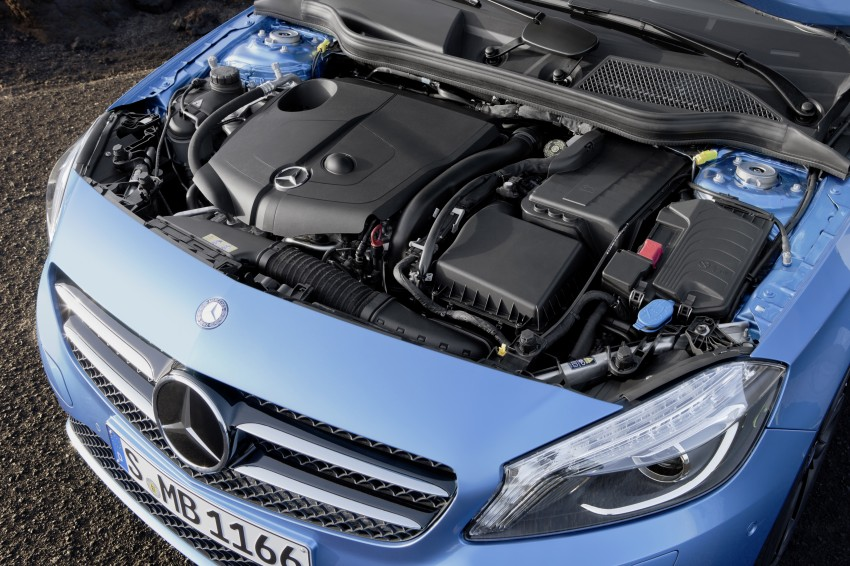 DRIVEN: W176 Mercedes-Benz A-Class – we sample the A200, A250 and A250 Sport in Slovenia Image #121695