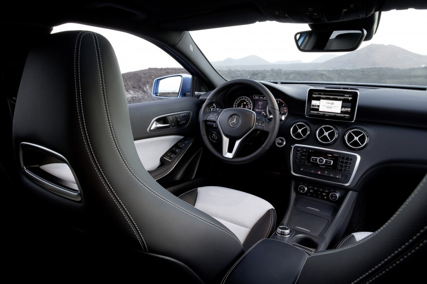 DRIVEN: W176 Mercedes-Benz A-Class – we sample the A200, A250 and A250 Sport in Slovenia Image #121699