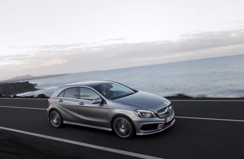 DRIVEN: W176 Mercedes-Benz A-Class – we sample the A200, A250 and A250 Sport in Slovenia Image #121700
