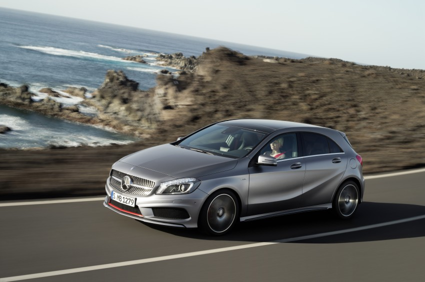 DRIVEN: W176 Mercedes-Benz A-Class – we sample the A200, A250 and A250 Sport in Slovenia Image #121701