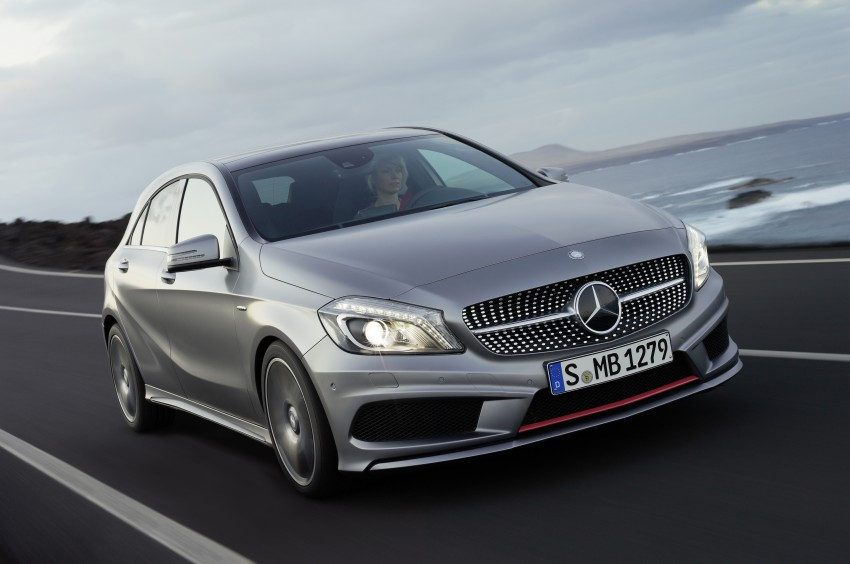 DRIVEN: W176 Mercedes-Benz A-Class – we sample the A200, A250 and A250 Sport in Slovenia Image #121702
