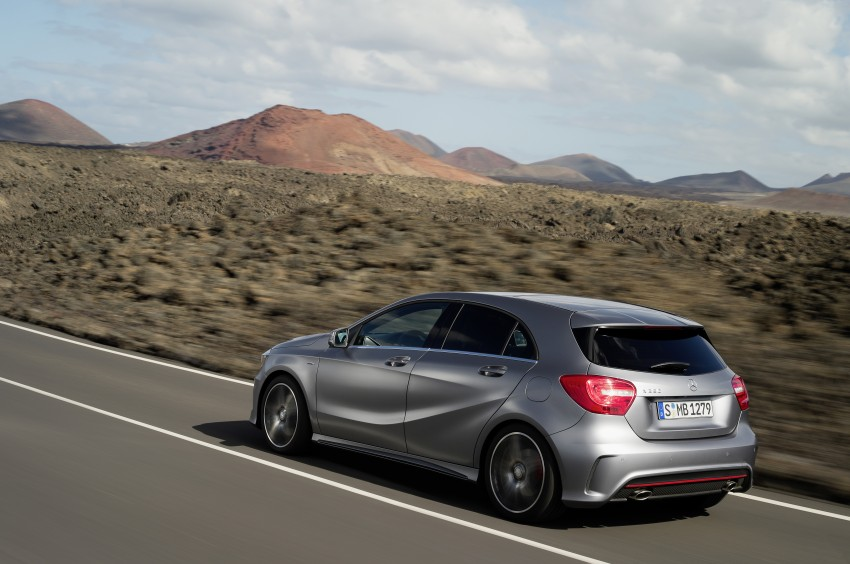 DRIVEN: W176 Mercedes-Benz A-Class – we sample the A200, A250 and A250 Sport in Slovenia Image #121703