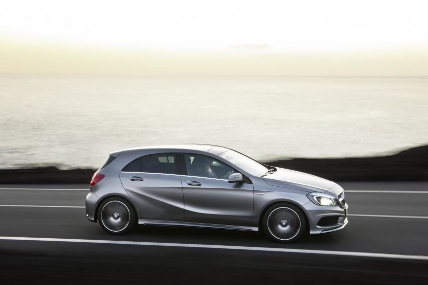 DRIVEN: W176 Mercedes-Benz A-Class – we sample the A200, A250 and A250 Sport in Slovenia Image #121704