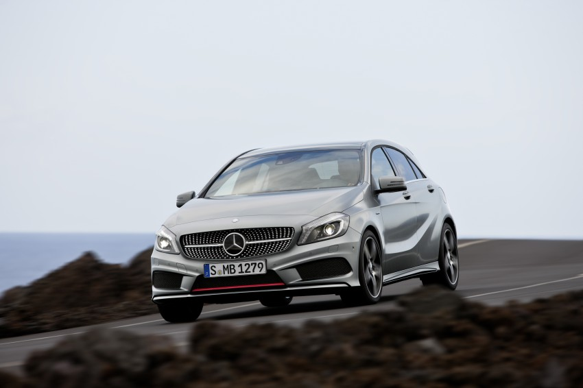 DRIVEN: W176 Mercedes-Benz A-Class – we sample the A200, A250 and A250 Sport in Slovenia Image #121705