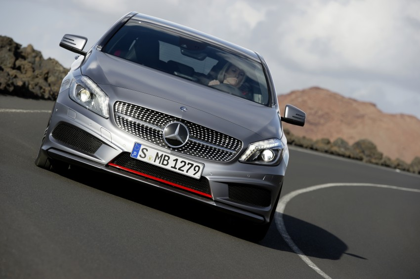 DRIVEN: W176 Mercedes-Benz A-Class – we sample the A200, A250 and A250 Sport in Slovenia Image #121706