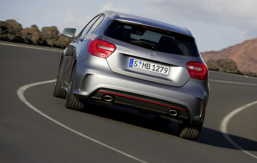 DRIVEN: W176 Mercedes-Benz A-Class – we sample the A200, A250 and A250 Sport in Slovenia Image #121707