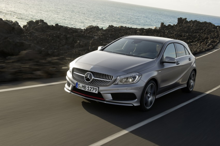 DRIVEN: W176 Mercedes-Benz A-Class – we sample the A200, A250 and A250 Sport in Slovenia Image #121708