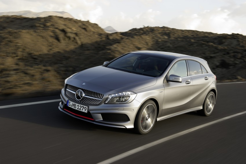 DRIVEN: W176 Mercedes-Benz A-Class – we sample the A200, A250 and A250 Sport in Slovenia Image #121709