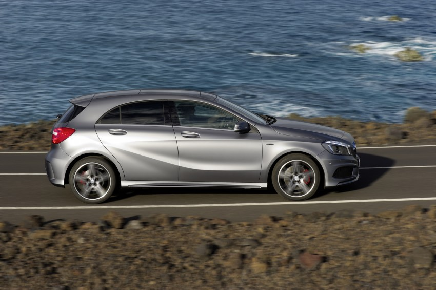 DRIVEN: W176 Mercedes-Benz A-Class – we sample the A200, A250 and A250 Sport in Slovenia Image #121710