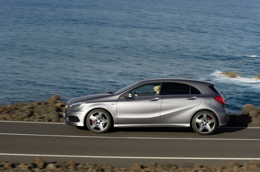 DRIVEN: W176 Mercedes-Benz A-Class – we sample the A200, A250 and A250 Sport in Slovenia Image #121711