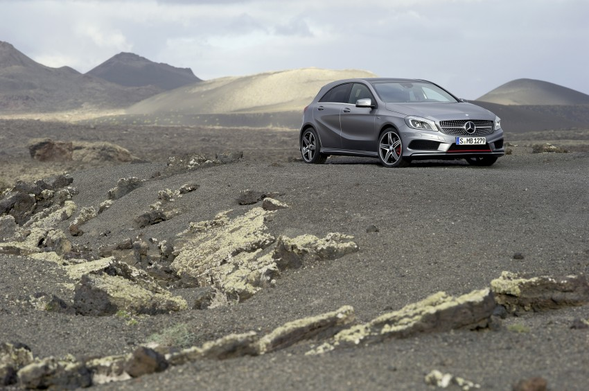DRIVEN: W176 Mercedes-Benz A-Class – we sample the A200, A250 and A250 Sport in Slovenia Image #121713