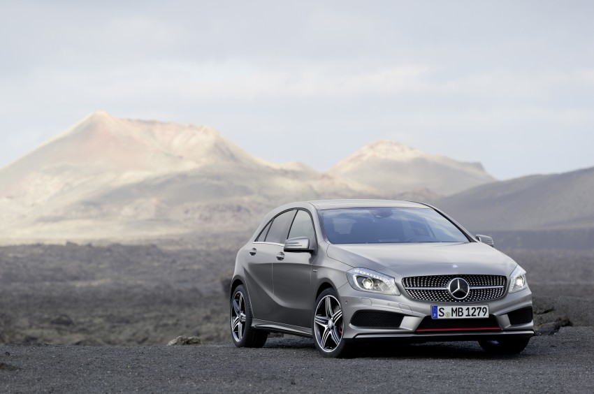 DRIVEN: W176 Mercedes-Benz A-Class – we sample the A200, A250 and A250 Sport in Slovenia Image #121714