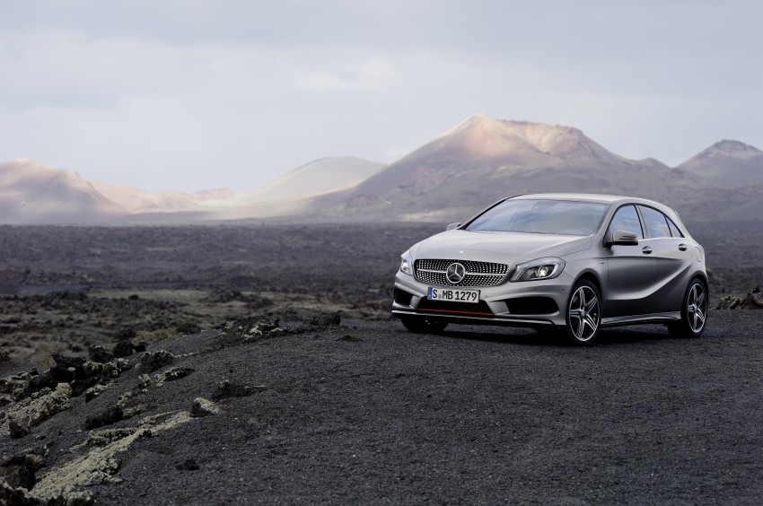 DRIVEN: W176 Mercedes-Benz A-Class – we sample the A200, A250 and A250 Sport in Slovenia Image #121715