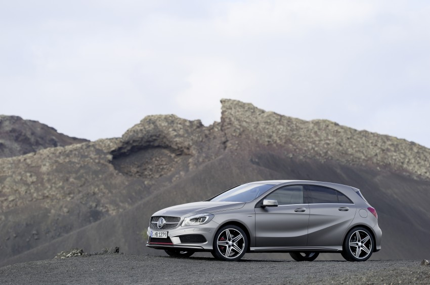 DRIVEN: W176 Mercedes-Benz A-Class – we sample the A200, A250 and A250 Sport in Slovenia Image #121716