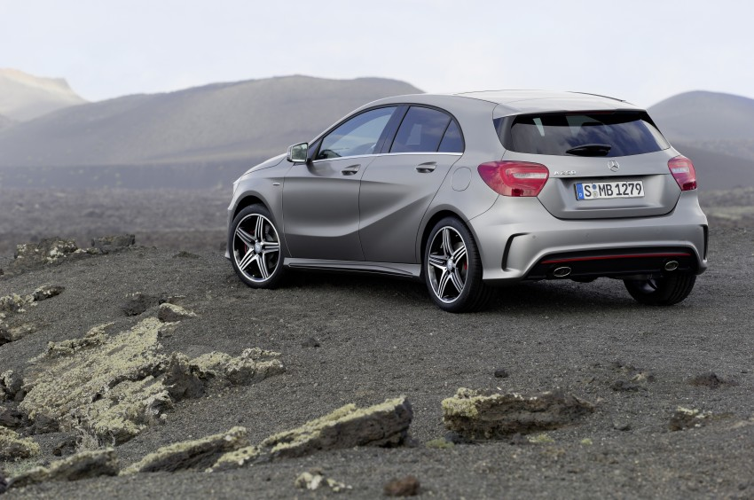 DRIVEN: Mercedes-Benz A-Class W176 – the A 200, A 250 and A 250 Sport sampled in Slovenia Image #121718