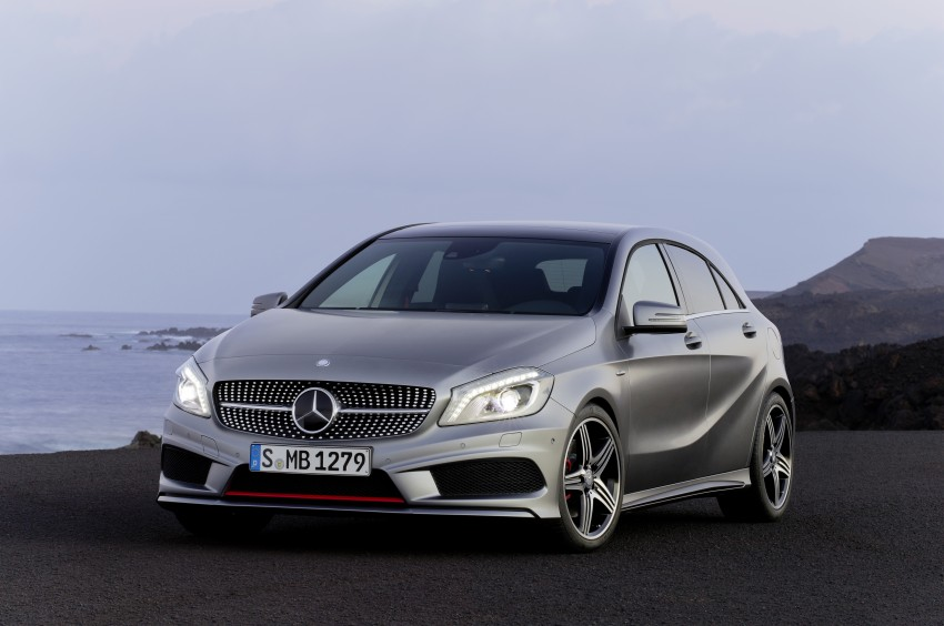 DRIVEN: W176 Mercedes-Benz A-Class – we sample the A200, A250 and A250 Sport in Slovenia Image #121720