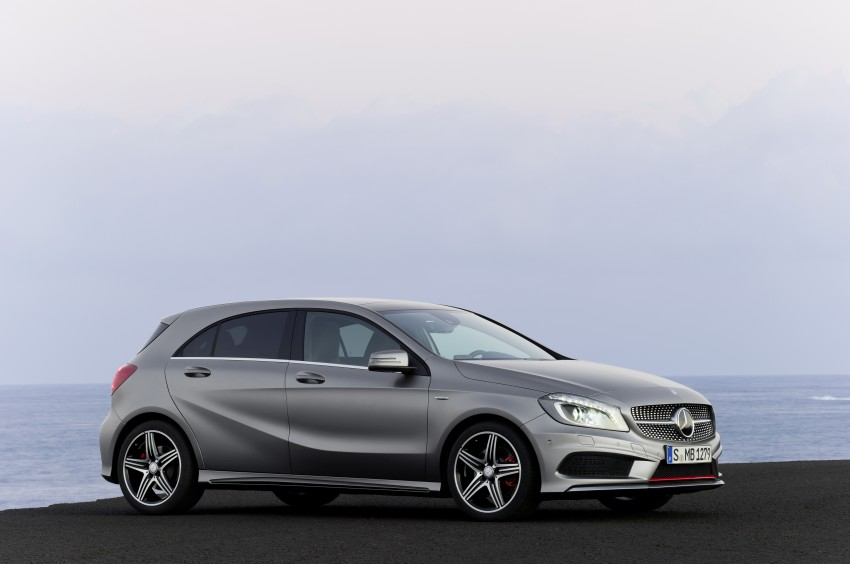 DRIVEN: W176 Mercedes-Benz A-Class – we sample the A200, A250 and A250 Sport in Slovenia Image #121721