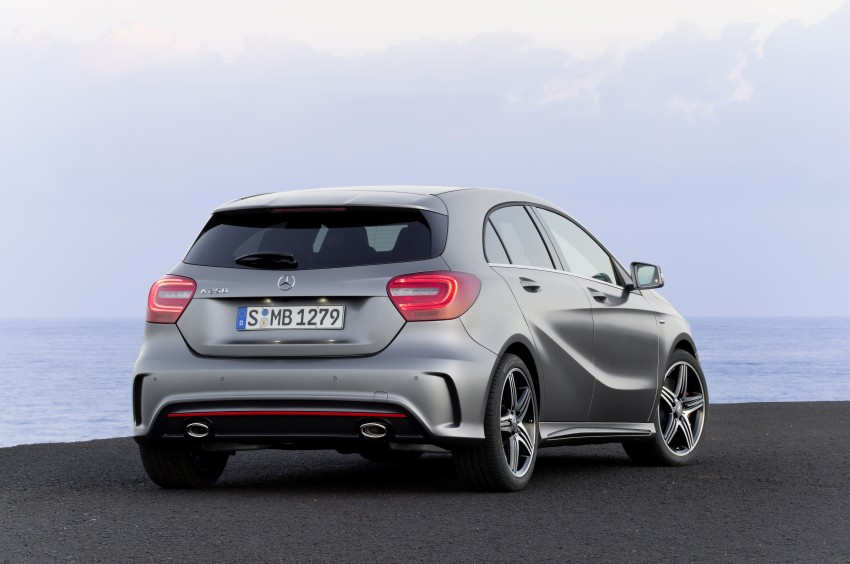 DRIVEN: W176 Mercedes-Benz A-Class – we sample the A200, A250 and A250 Sport in Slovenia Image #121722