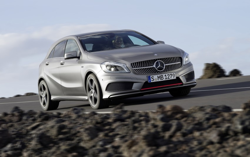 DRIVEN: W176 Mercedes-Benz A-Class – we sample the A200, A250 and A250 Sport in Slovenia Image #121724