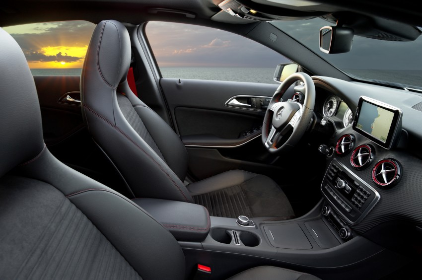 DRIVEN: W176 Mercedes-Benz A-Class – we sample the A200, A250 and A250 Sport in Slovenia Image #121732