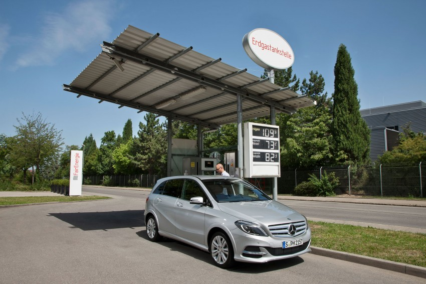 Mercedes-Benz B 200 Natural Gas Drive – the B-Class gets powered by alternative fuel Image #129346