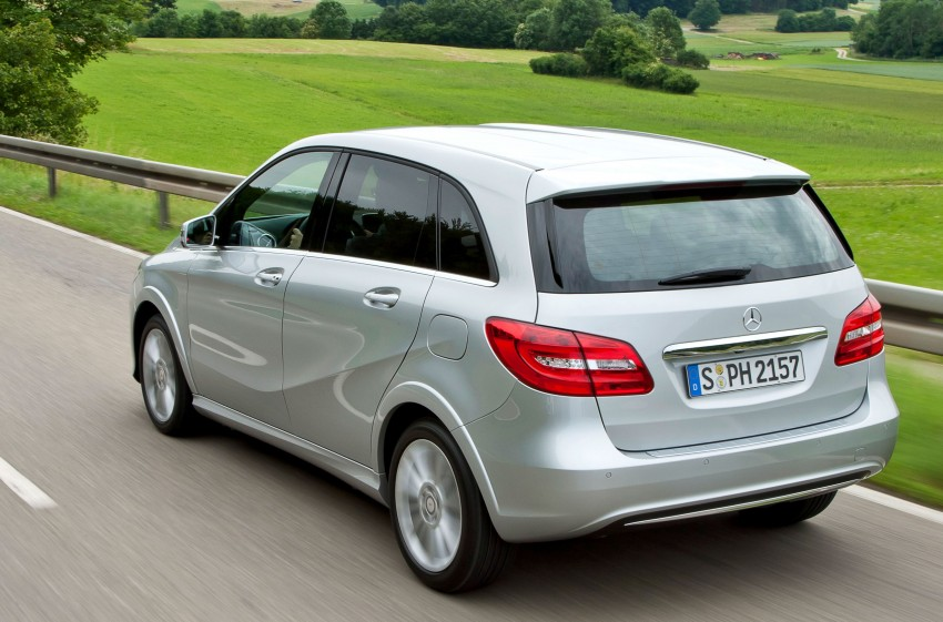 Mercedes-Benz B 200 Natural Gas Drive – the B-Class gets powered by alternative fuel Image #129349