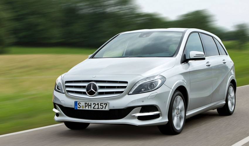 Mercedes-Benz B 200 Natural Gas Drive – the B-Class gets powered by alternative fuel Image #129350