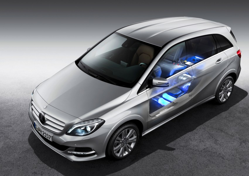 Mercedes-Benz B 200 Natural Gas Drive – the B-Class gets powered by alternative fuel Image #129354