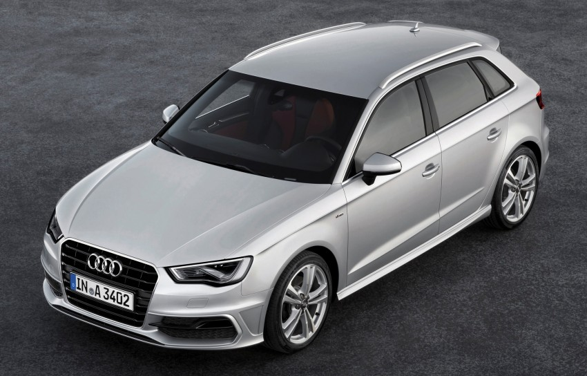 Third-gen Audi A3 Sportback to surface in Paris Image #132451