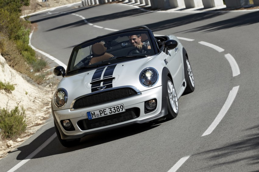 MINI Roadster – production drop top MINI Coupe unveiled! Image #75003