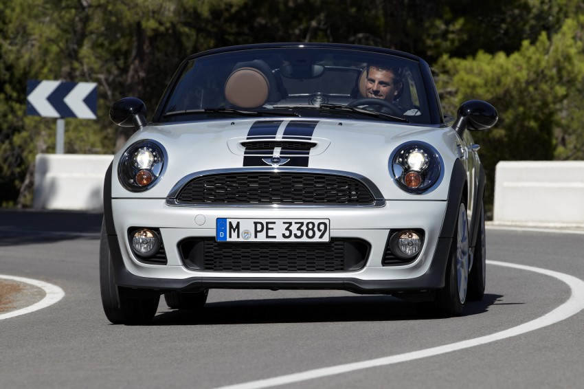 MINI Roadster – production drop top MINI Coupe unveiled! Image #75004